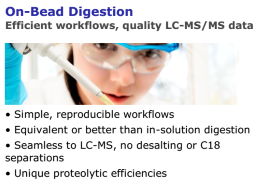 On-Bead Digestion